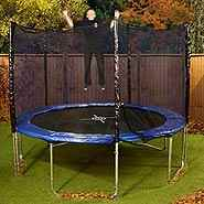 Mad Dash Super SE 10ft Round Popular Trampoline with Enclosure & Cover