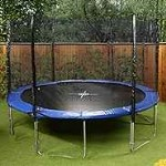 Mad Dash Super SE 12ft Round Optimum Trampoline with Enclosure & Cover
