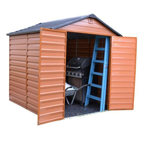 Palram Amber Plastic 8 x 6 Shed